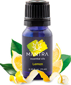 essential oil lemon mantra