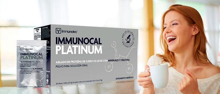 immunocal platinum beneficios