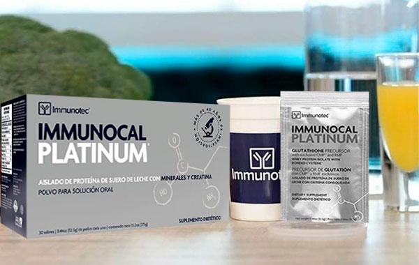 immunocal platinum que contiene