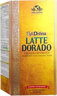latte dorado vida divina
