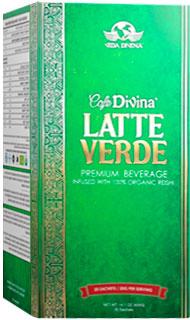 latte verde vida divina