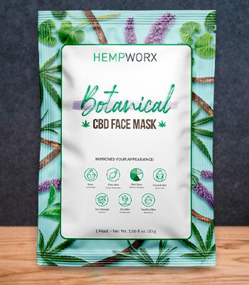 face mask with cbd hempworx