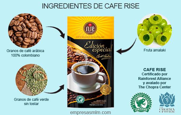 rise cafe soluble con amalaki